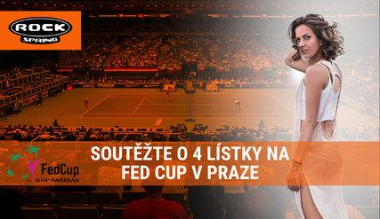 Vyhrajte lístky na FED CUP!