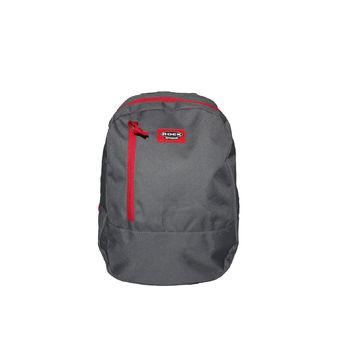 JERSEY BAG DK.GREY/RED