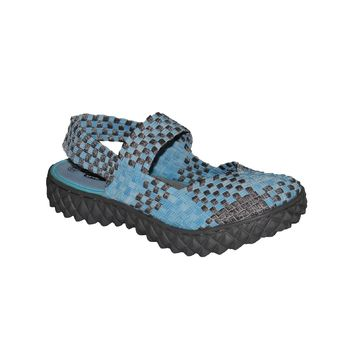 OVER SANDAL LT.BLUE/RS