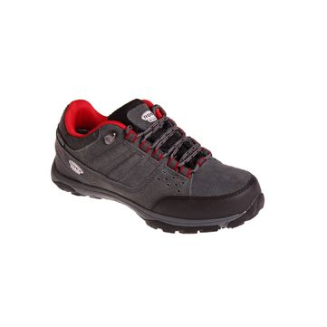 SIRBY CHARCOAL/RED