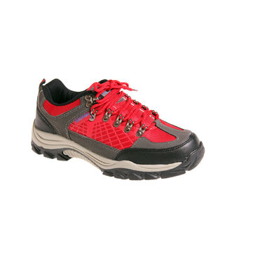 SPEEDY LOW RED/CHARCOAL